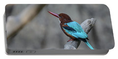 White-throated Kingfisher 02 Portable Battery Charger