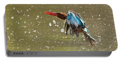 White-throated Kingfisher Portable Battery Charger