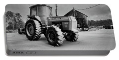 White Tractor Portable Battery Charger