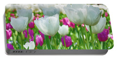 White Tulips 71116 Portable Battery Charger