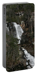 Whitewater Falls Portable Battery Charger by Cathy Harper