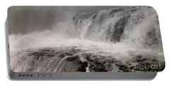 Portable Battery Charger featuring the photograph White Water by Raymond Earley