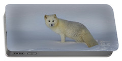 White Wilderness Portable Battery Charger by Steve McKinzie
