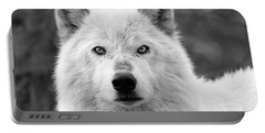 White Wolf Encounter Portable Battery Charger