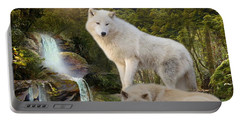 White Wolf Falls2 Portable Battery Charger