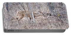 Portable Battery Charger featuring the photograph Whitetail Deer 1171 by Michael Peychich