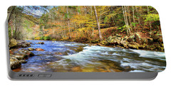 Whitetop River Fall Portable Battery Charger