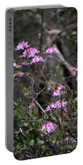 Portable Battery Charger featuring the photograph Who Put The Wild In Wildflowers by Skip Willits
