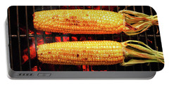 Whole Corn On Grill Portable Battery Charger
