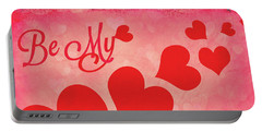 Whole Lotta Love Portable Battery Charger by Iryna Goodall