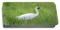 Whooping Crane 2017-2 Portable Battery Charger by Thomas Young