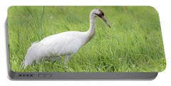 Whooping Crane 2017-3 Portable Battery Charger by Thomas Young