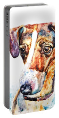 Why The Long Face? Portable Battery Charger