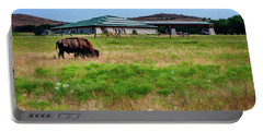 Wichita Mountain Wildlife Reserve Welcome Center I Portable Battery Charger by Tamyra Ayles