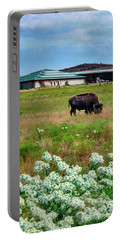 Wichita Mountain Wildlife Reserve Welcome Center Verticle Portable Battery Charger