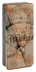 Wicked Portable Battery Charger by Cynthia Powell