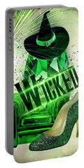 Portable Battery Charger featuring the digital art Wicked by Mo T