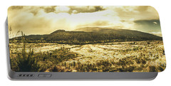 Wide Open Tasmania Countryside Portable Battery Charger