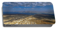 Wide View From Masada Portable Battery Charger