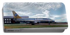 Wien Air Alaska Boeing 737, N4907 Portable Battery Charger by Wernher Krutein