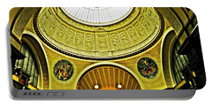 Wiesbaden Casino Portable Battery Charger by Sarah Loft