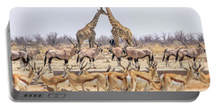 Wild Animals Pyramid Portable Battery Charger