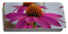 Wild Berry Coneflower Portable Battery Charger