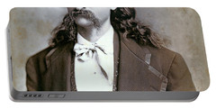 Wild Bill Hickok  1873 Portable Battery Charger by Daniel Hagerman