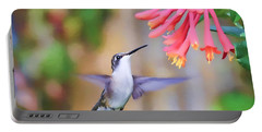 Wild Birds - Hummingbird Art Portable Battery Charger