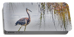 Wild Birds - Tricolored Heron Portable Battery Charger