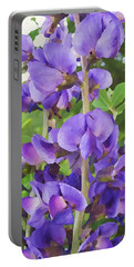 Wild Blue False Indigo Portable Battery Charger