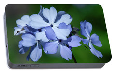 Portable Battery Charger featuring the photograph Wild Blue Phlox Dspf0387 by Gerry Gantt