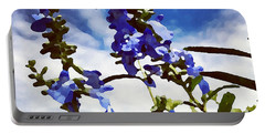 Wild Blue Sage  Portable Battery Charger