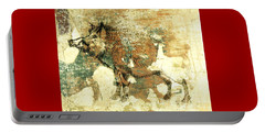 Wild Boar Cave Painting 1 Portable Battery Charger