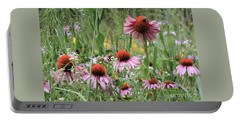 Wild Coneflowers Portable Battery Charger