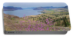 Wild Flower Country Portable Battery Charger