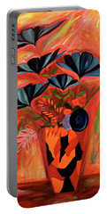Wild Flowers  A Still Life  Portable Battery Charger