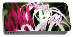Wild Flowers In Hawaii Portable Battery Charger