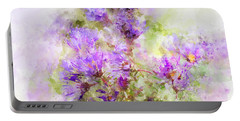 Wild Flowers In The Fall Watercolor Portable Battery Charger