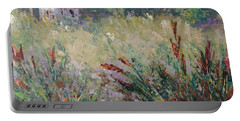 Wild Flowers Of Provence Portable Battery Charger