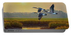 Wild Geese Marsh Portable Battery Charger
