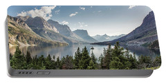 Wild Goose Island In St. Mary Lake - Glacier National Park Portable Battery Charger