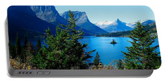 Wild Goose Island In The Fall Portable Battery Charger