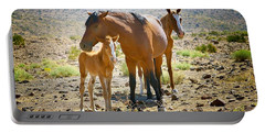 Wild Horse Family Portable Battery Charger