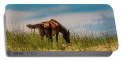 Wild Horse And Dragon Flies Portable Battery Charger