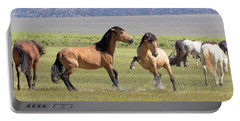 Wild Horses In The Eastern Sierra  Portable Battery Charger