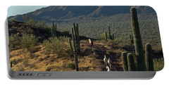 Wild Horses Of The Sonoran Desert Portable Battery Charger