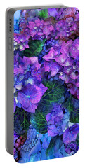 Wild Hydrangeas Portable Battery Charger