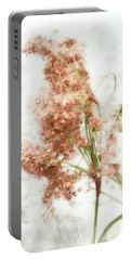 Portable Battery Charger featuring the photograph Wild Indian Rice In Autumn by Louise Kumpf