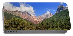 Portable Battery Charger featuring the photograph Wild Italy by Roy McPeak